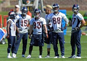 Denver Broncos OTA's at Dove Valley
